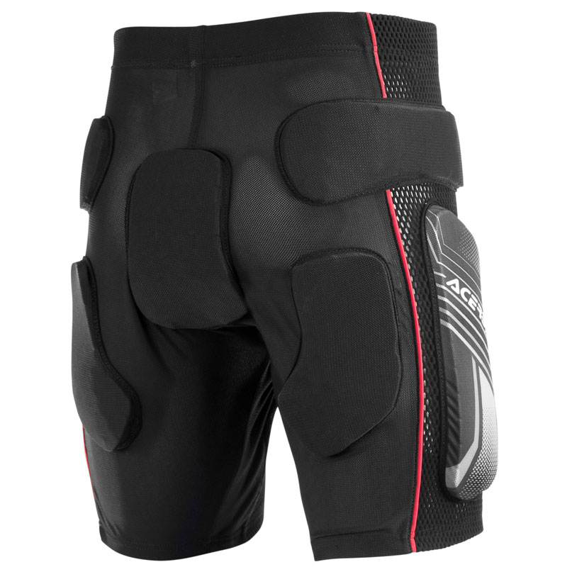 Short Acerbis SHORT SOFT 2.0 BLACK RED