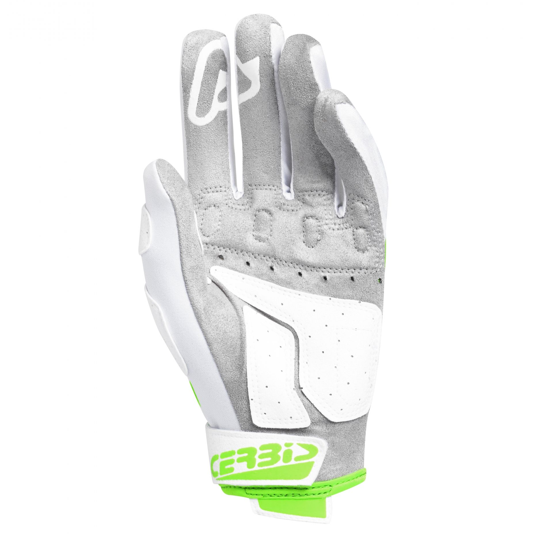 Gants cross Acerbis MX X-P GREEN WHITE 2020