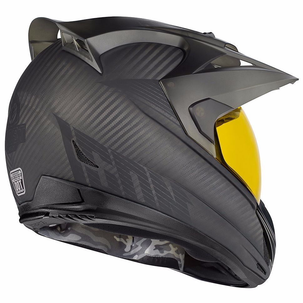 Casque Icon VARIANT  - GHOST CARBON