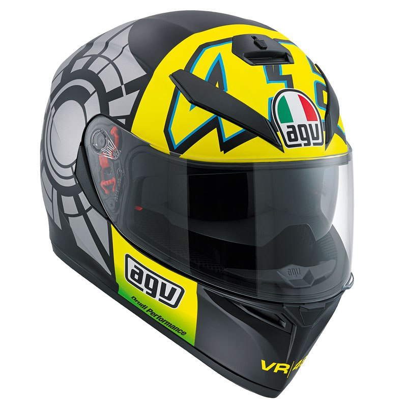 Casque AGV K-3 SV - WINTER TEST 2012