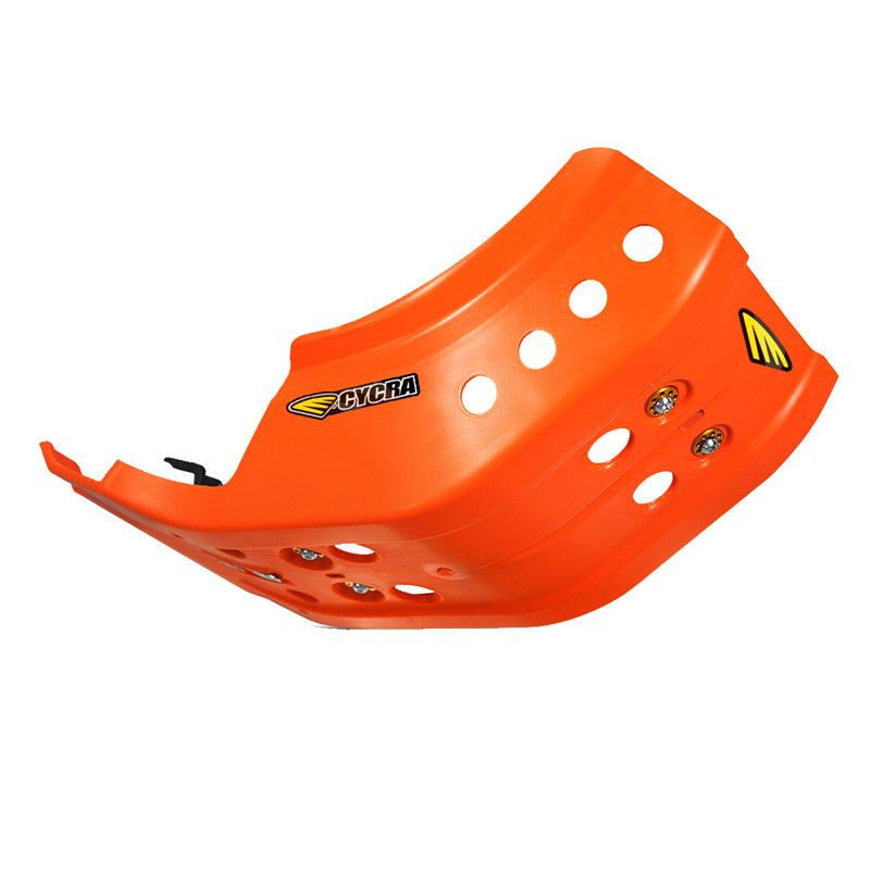 Sabot moteur CYCRA full armor orange