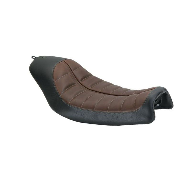 Selle confort ROLAND SANDS RSD ENZO SOLO BLACK/BROWN