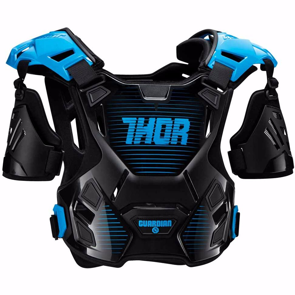 Plastron Thor GUARDIAN BLACK BLUE ENFANT