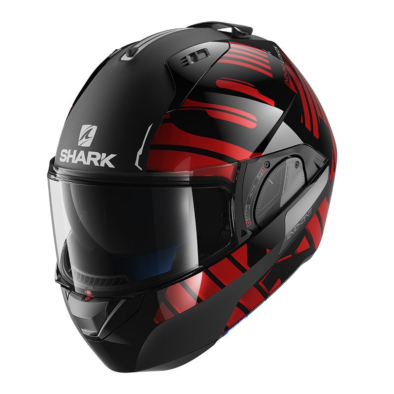 casque shark evo one 2 lithion dual equipement du pilote. Black Bedroom Furniture Sets. Home Design Ideas