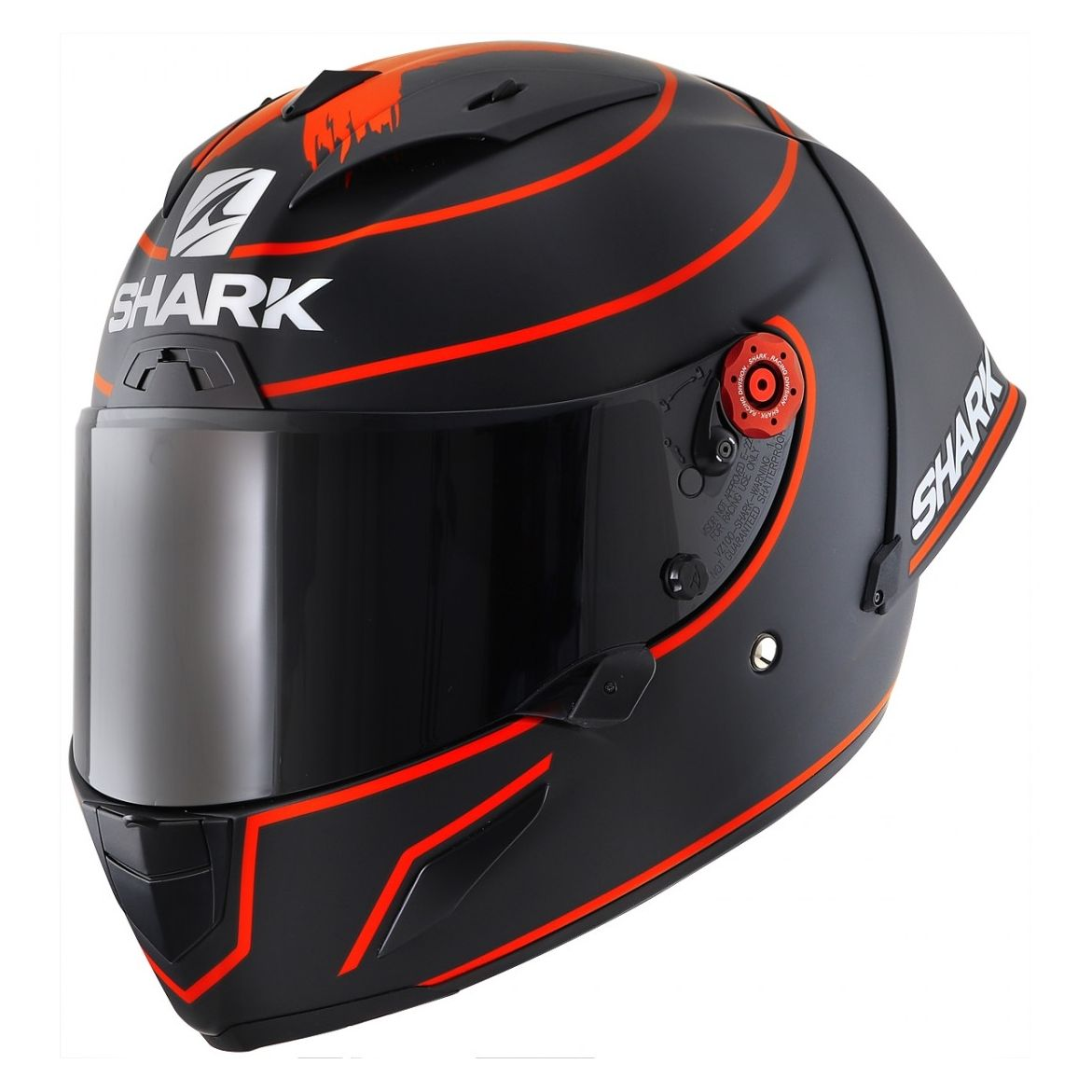 Casque Shark RACE-R PRO GP - REPLICA LORENZO WINTER TEST 2019