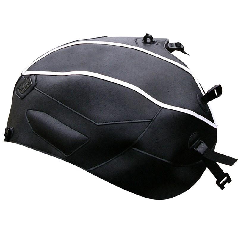 prot ge r servoirs bagster noir filet blanc pi ces moto access. Black Bedroom Furniture Sets. Home Design Ideas