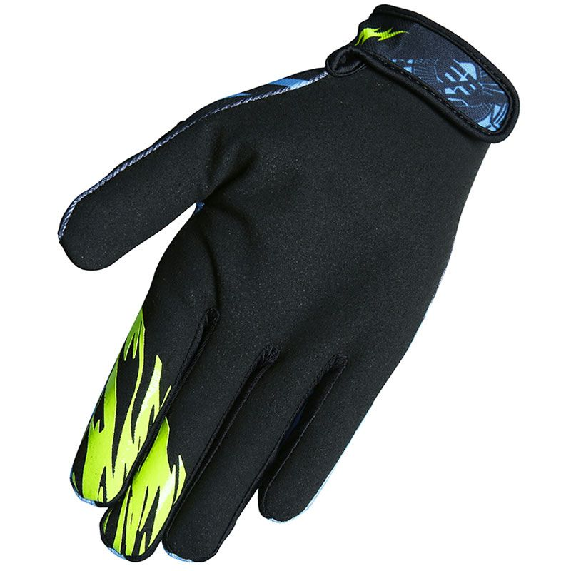 Gants cross Shot by Freegun DEVO NERVE NEON GREEN ENFANT