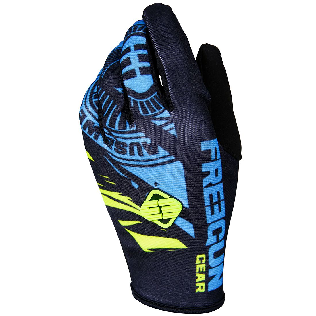 Gants cross Shot by Freegun DEVO NERVE BLUE ENFANT