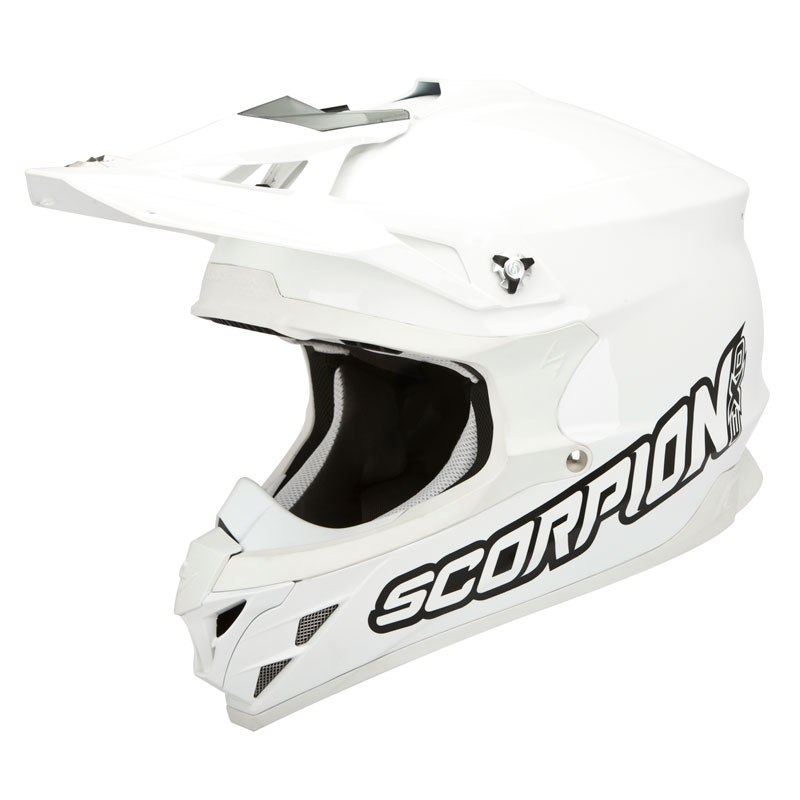 Casque cross Scorpion Exo VX-15 EVO AIR - WHITE 2018