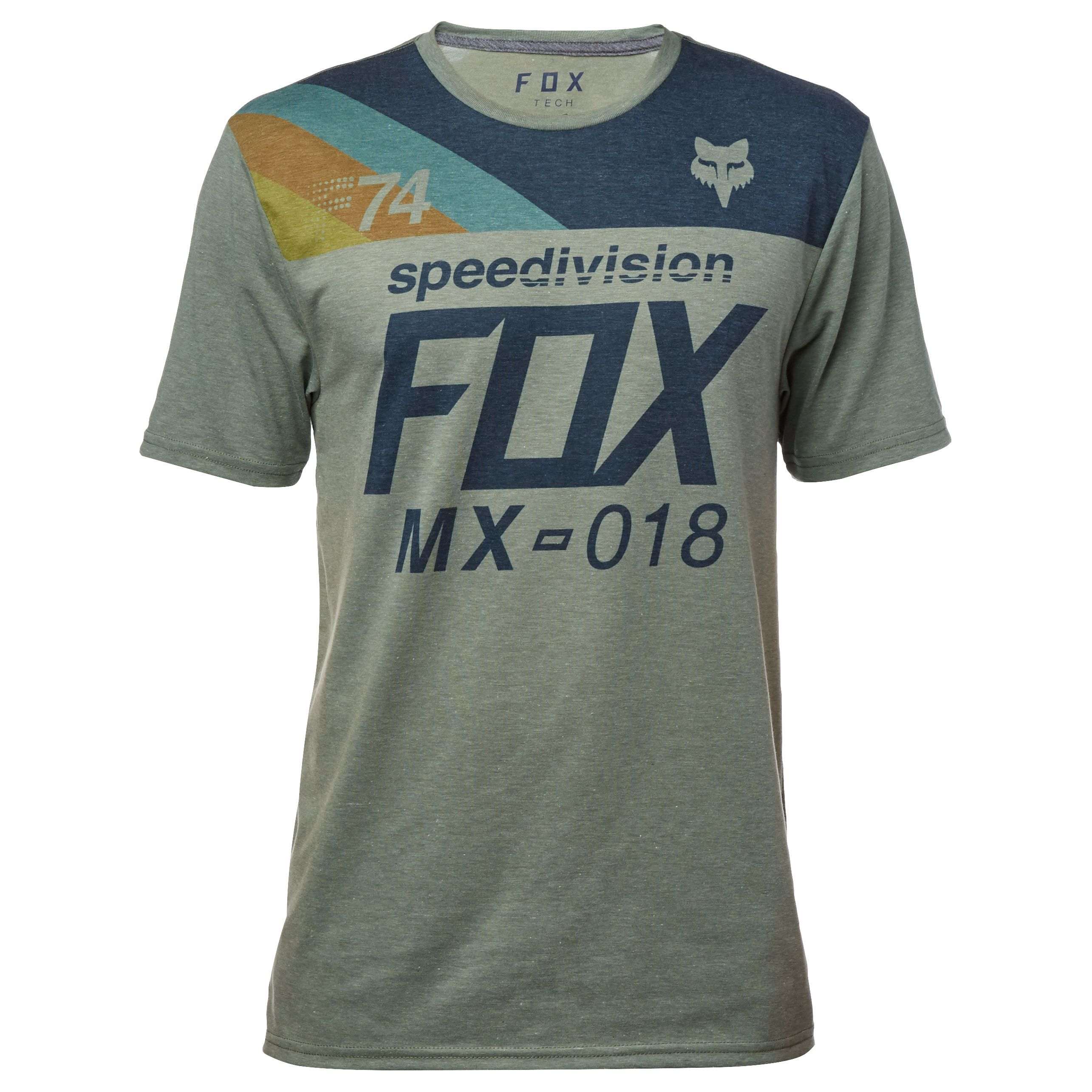 T-Shirt manches courtes Fox ACCORDINGLY - 2018