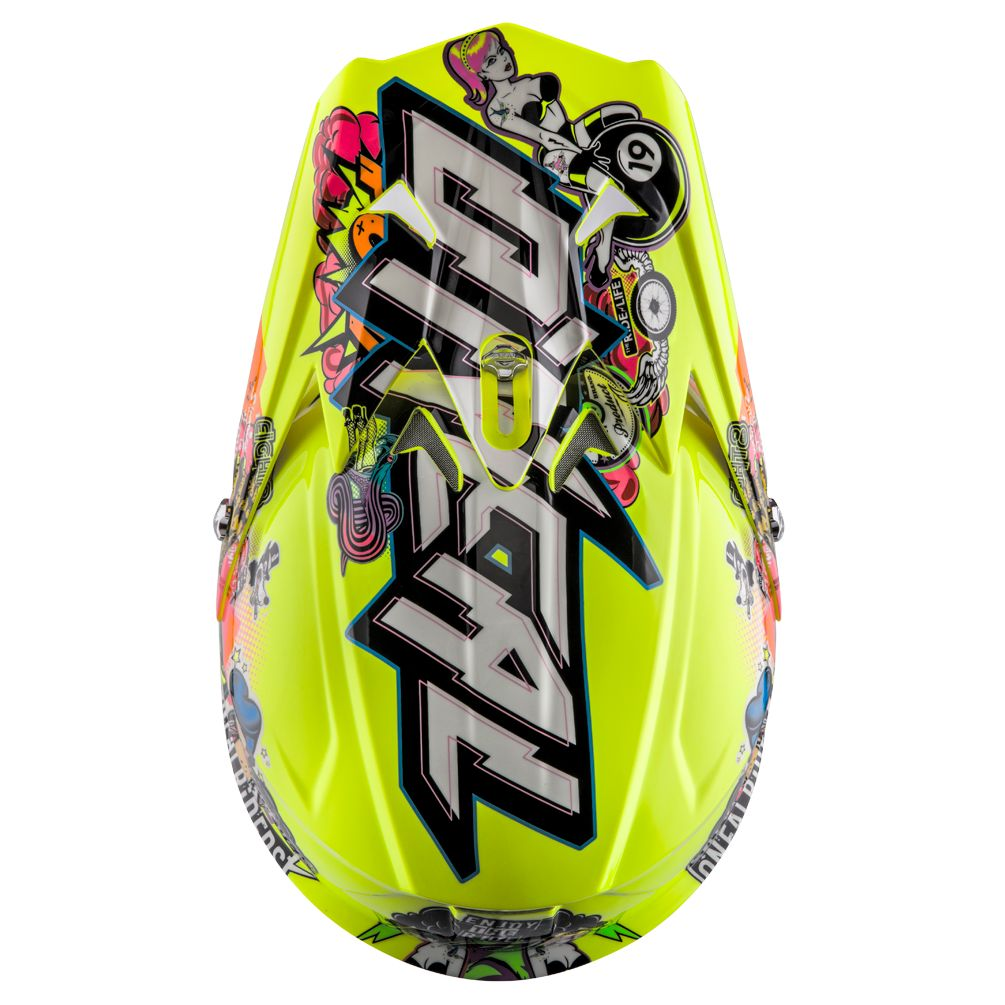 Casque cross O'Neal 3 SERIES - CRANK - HI-VIZ 2019