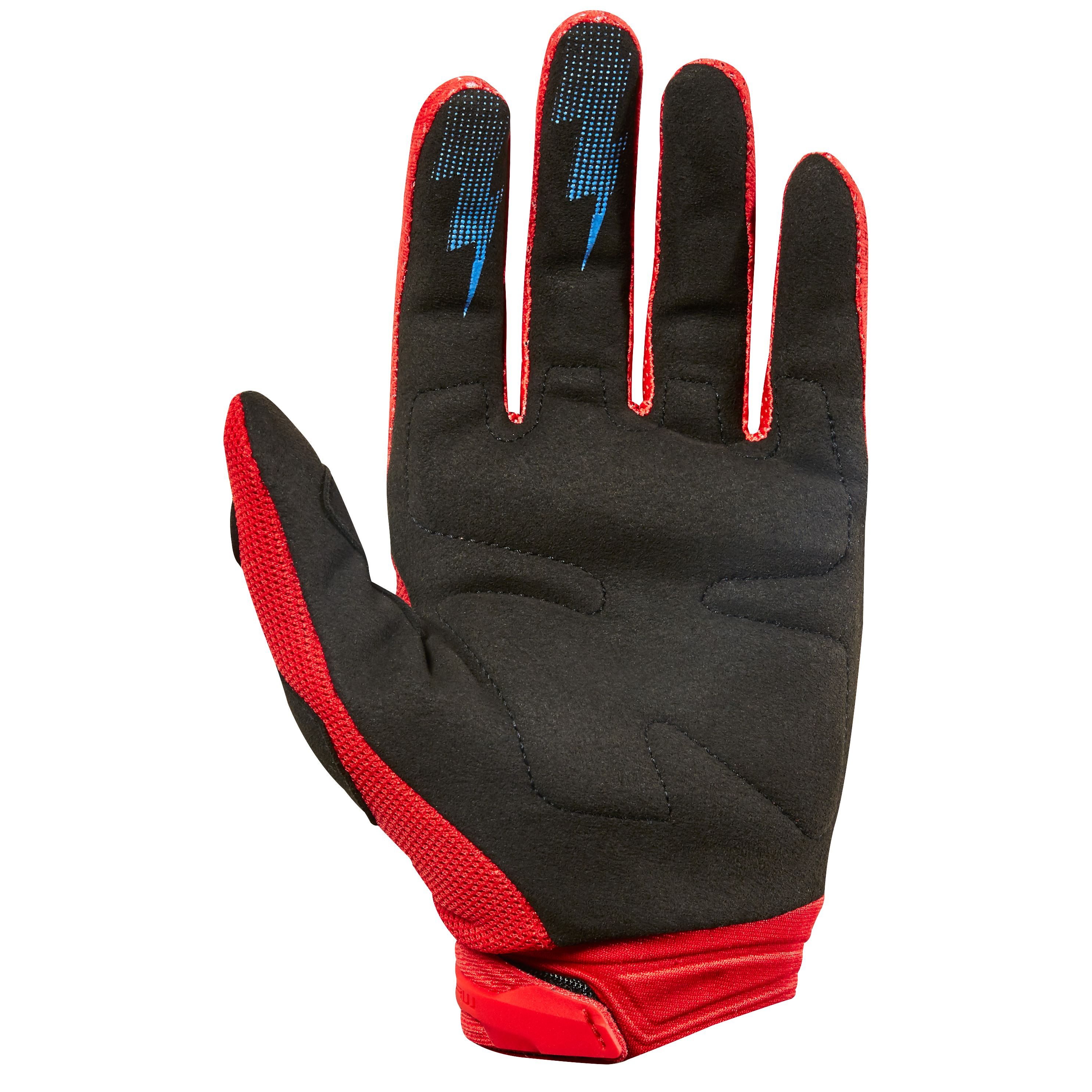 Gants cross Fox DIRTPAW RACE - ROUGE -  2018