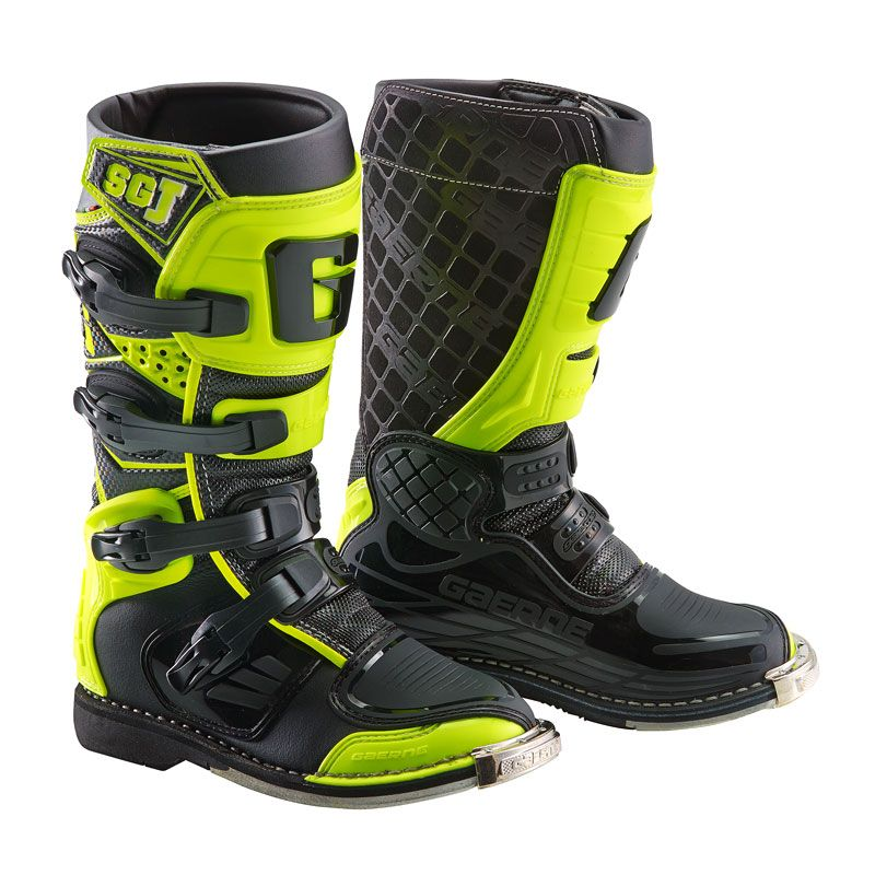 Bottes cross Gaerne SG.J YELLOW FLUO BLACK ENFANT