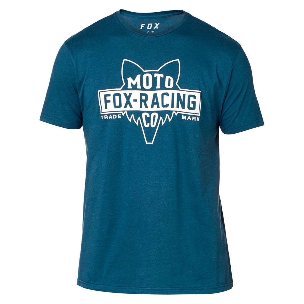 T-Shirt manches courtes Fox FLAT HEAD SS PREMIUM