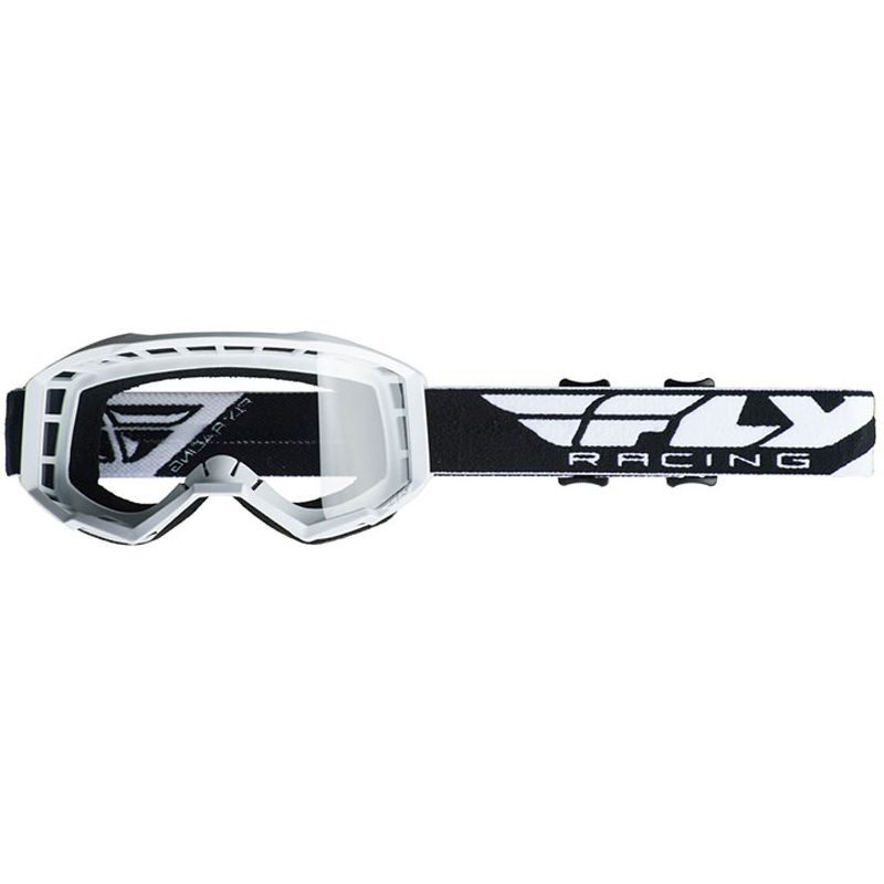 Masque cross Fly FOCUS - WHITE 2020