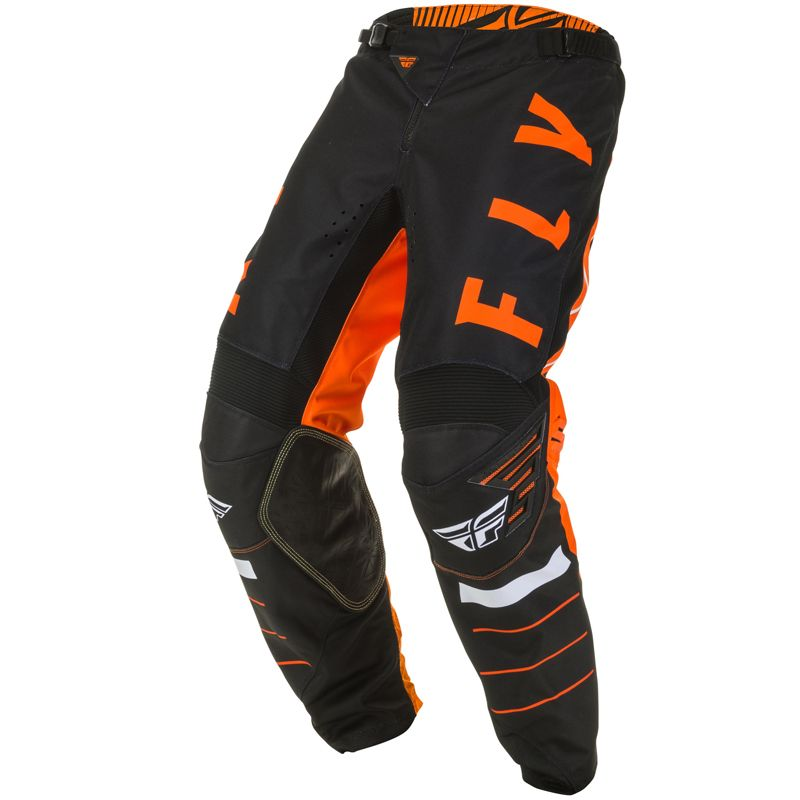 Pantalon cross Fly KINETIC K120 ORANGE BLACK WHITE ENFANT