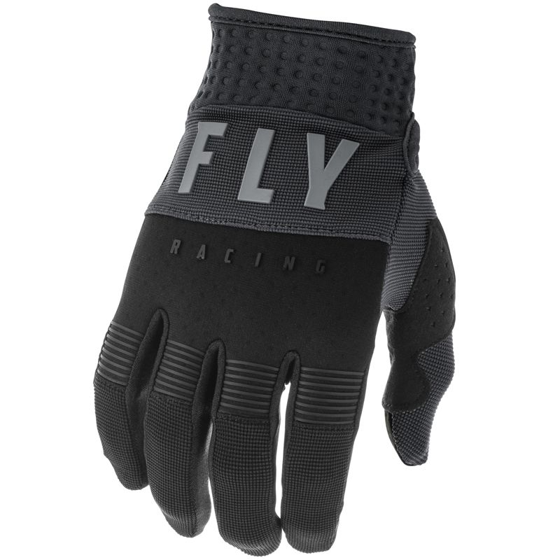 Gants cross Fly F-16 BLACK GREY ENFANT