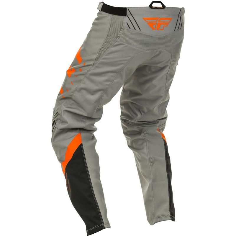 Pantalon cross Fly F-16 RIDING GREY BLACK ORANGE ENFANT