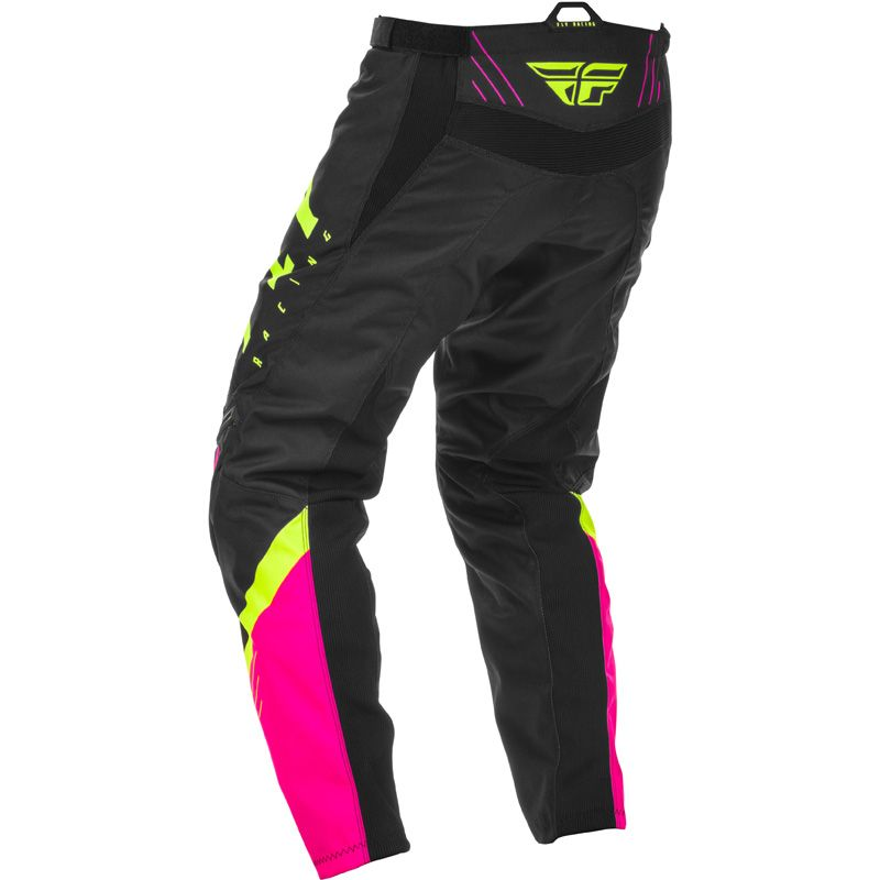 Pantalon cross Fly F-16 RIDING NEON PINK BLACK HI-VIS 2020