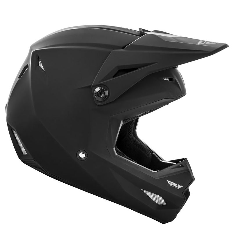 Casque cross Fly KINETIC K120 MATTE BLACK 2020