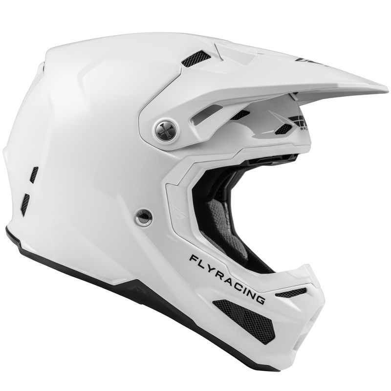 Casque cross Fly FORMULA CARBON WHITE 2020