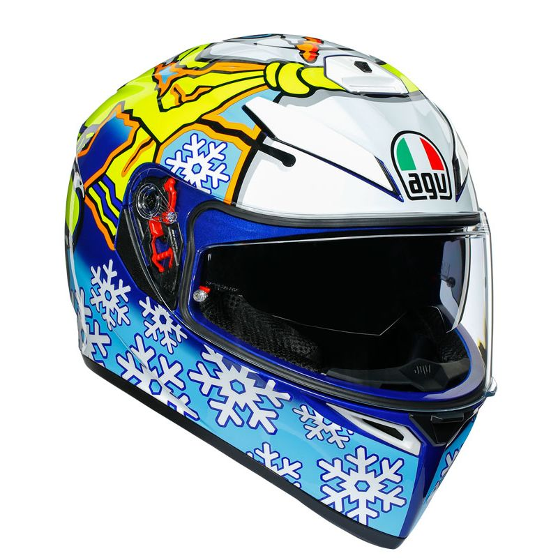 Casque AGV K-3 SV - ROSSI WINTER TEST 46 - MAXVISION