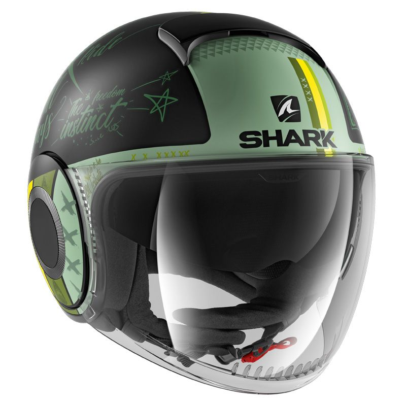 Casque Shark NANO TRIBUTE RM MAT