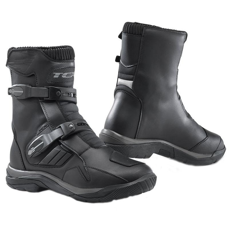 Bottes cross TCX Boots BAJA MID WATERPROOF BLACK 2020