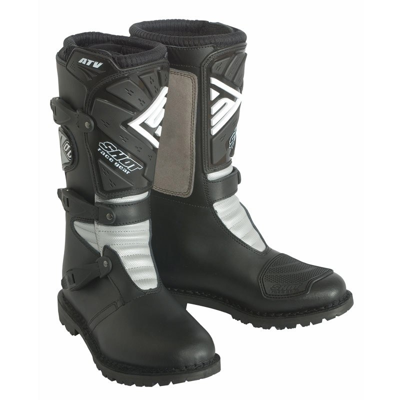 Bottes cross Shot destockage ATV NOIR  2018