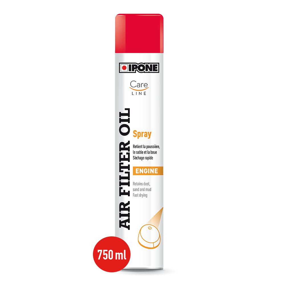 Graisse filtre à air Ipone CARELINE AIR FILTER OIL SPRAY 750 ML