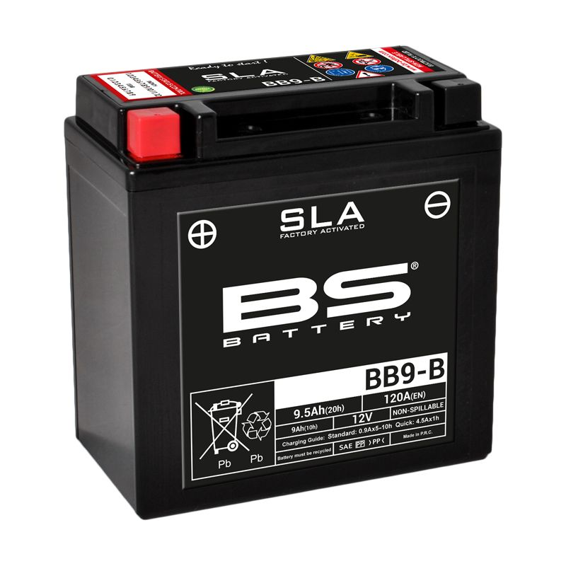 Batterie BS Battery SLA YB9-B