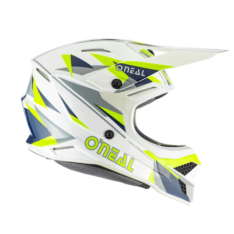 Casque cross O'Neal SERIES 3 - TRIZ - BLUE NEON YELLOW GLOSSY 2020