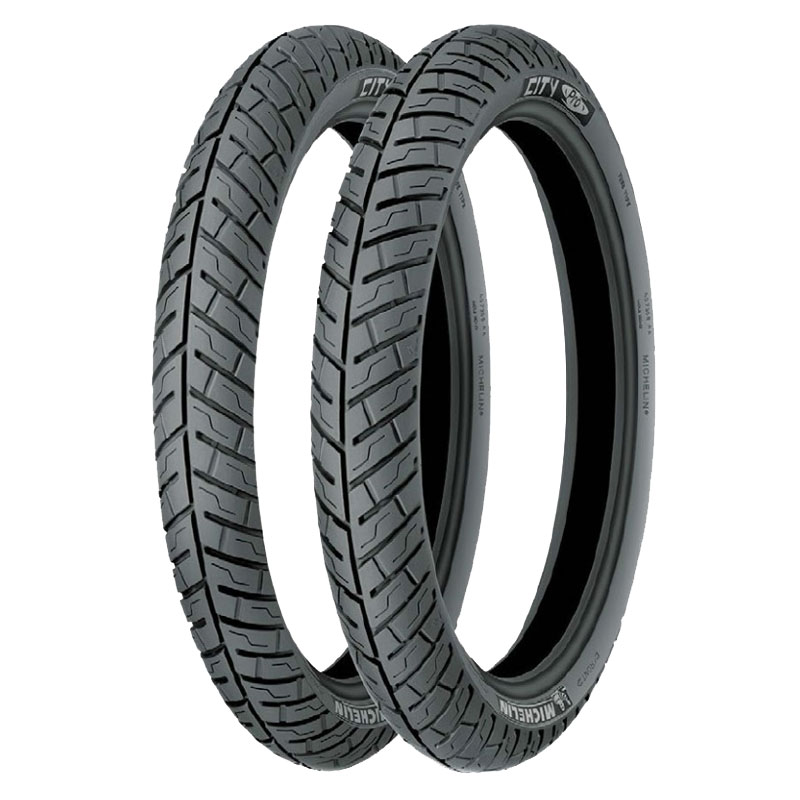 Pneumatique Michelin CITY PRO 90/80 - 14 (49P) REINF M/C TT
