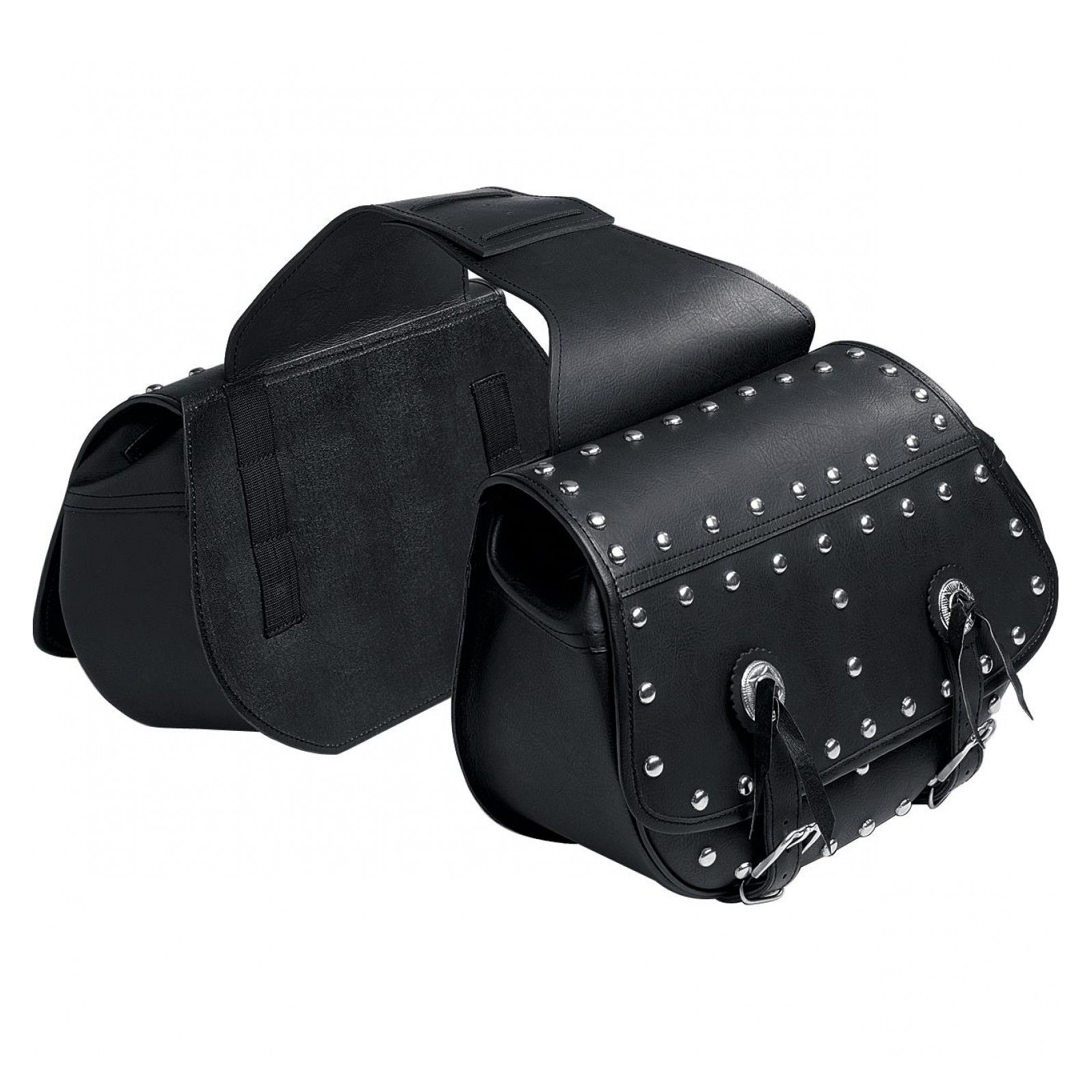 Sacoches cavalières Q Bag Saddle bag 09 avec rivets