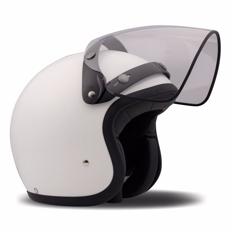 Ecran casque DMD FLIP UP VISOR CLEAR VINTAGE