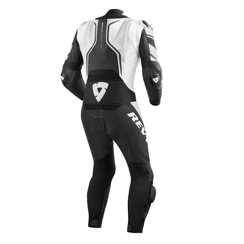 Combinaison Rev it VERTEX PRO 1 PIECES - WHITE BLACK