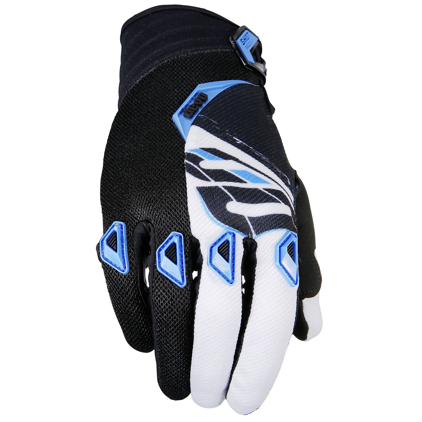 Gants cross Shot destockage DEVO FAST BLEU ENFANT