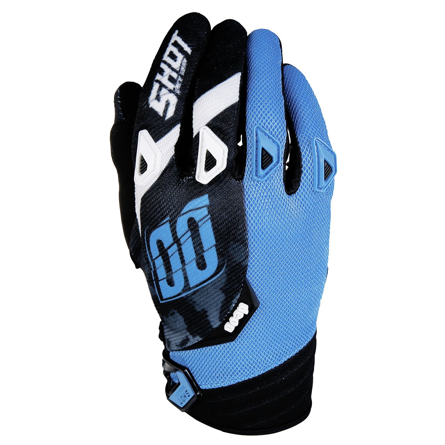 Gants cross Shot destockage DEVO SQUAD BLEU  2017
