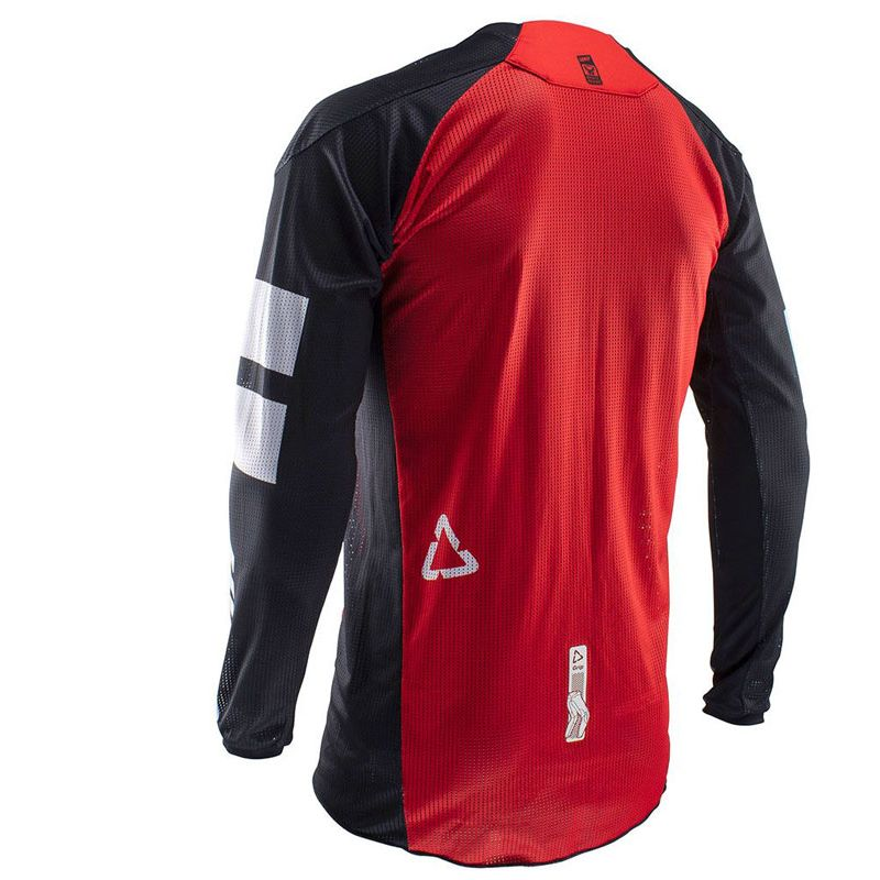 Maillot cross Leatt GPX 4.5 X-FLOW - RED 2020