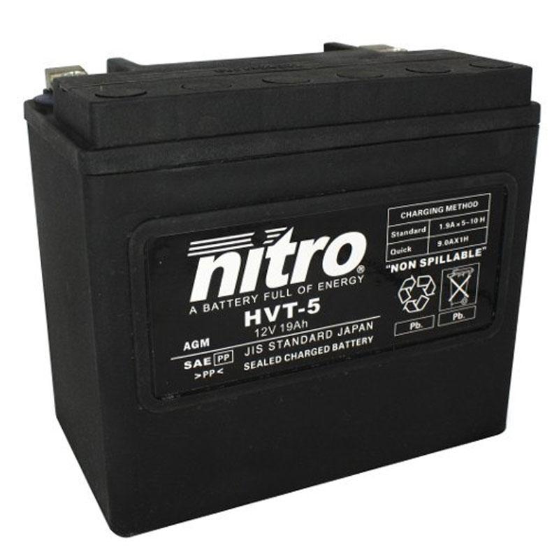 batterie nitro hvt 05 agm ferme harley oe 65991 82 type. Black Bedroom Furniture Sets. Home Design Ideas