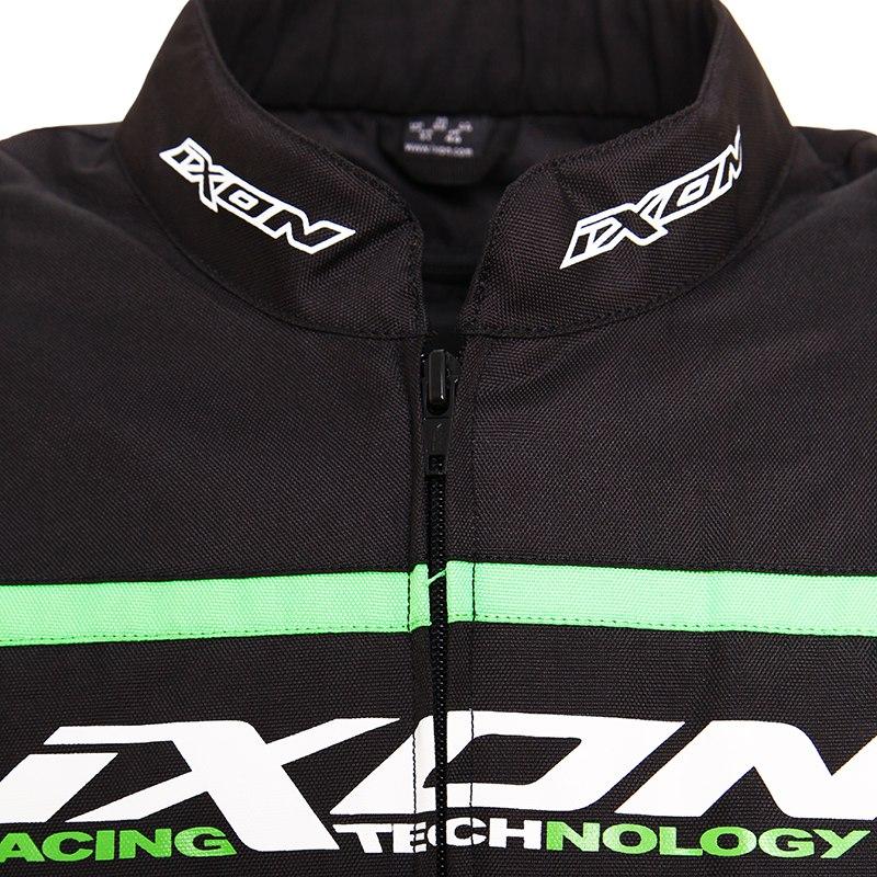 Ixon Noir Vert Blanc Blouson Fin Eager Du Equipement De Serie dPaXOwq