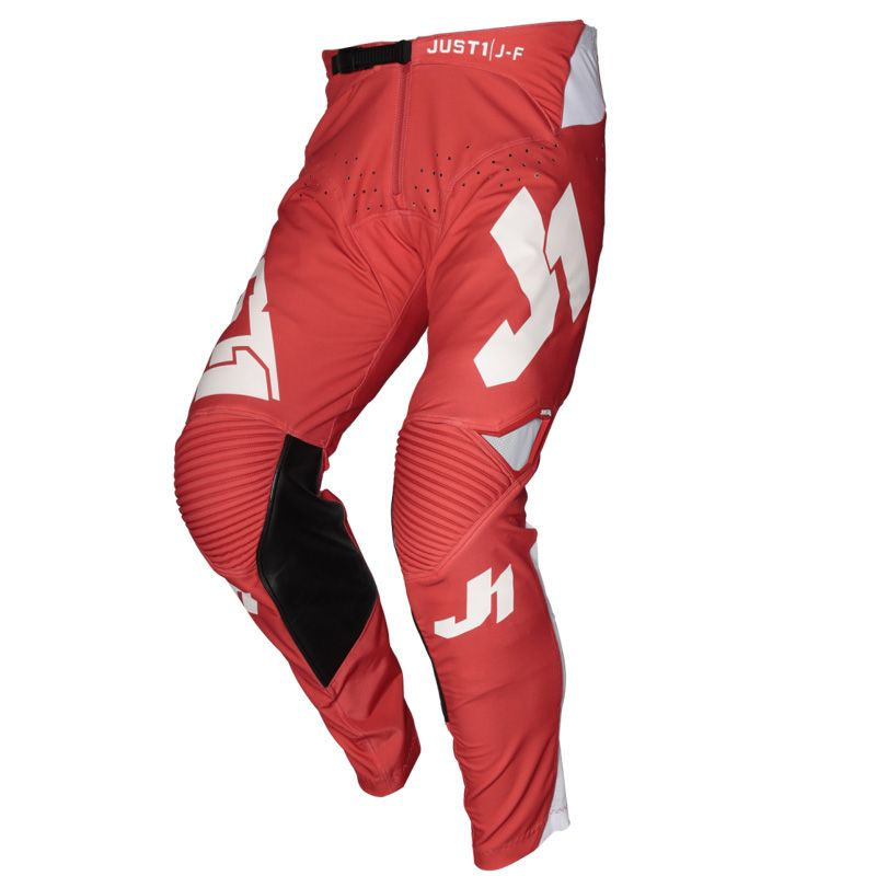 Pantalon cross JUST1 J-FLEX ARIA RED / WHITE 2020