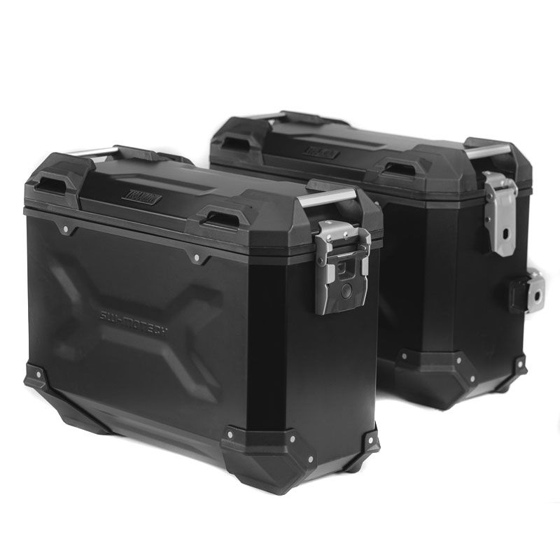 Valise SW-MOTECH KIT COMPLET TRAX ADVENTURE Noir 45/45 L