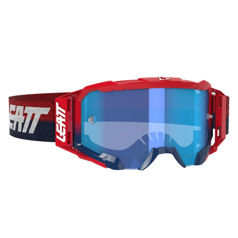Masque cross Leatt VELOCITY 5.5 - RED BLUE 2021