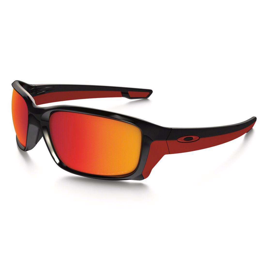 lunettes de soleil oakley straightlink polished black verres polarisants iridium equipement. Black Bedroom Furniture Sets. Home Design Ideas