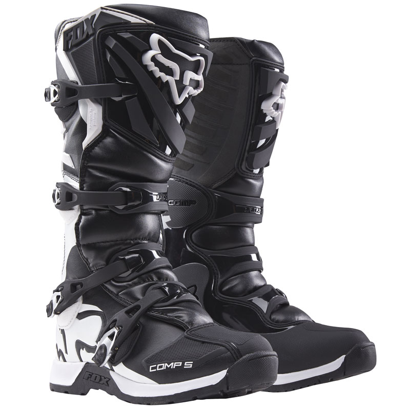 Bottes cross Fox COMP 5Y - BLACK