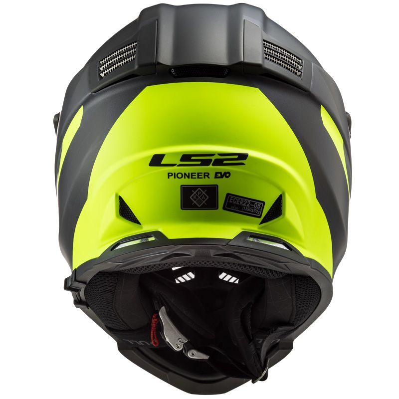 Casque cross LS2 PIONEER EVO ROUTER 2020