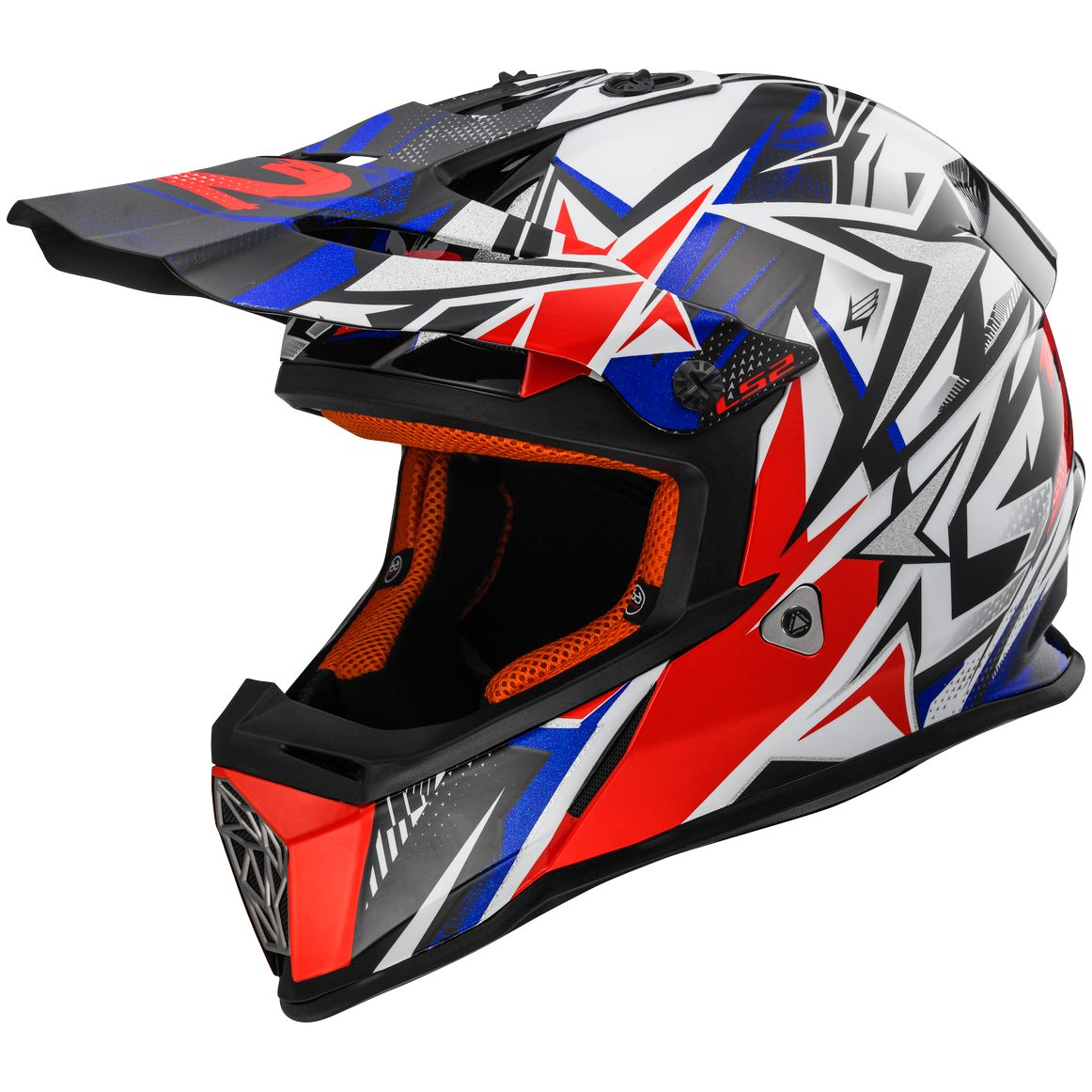 Casque cross LS2 MX437 - FAST MINI STRONG ENFANT
