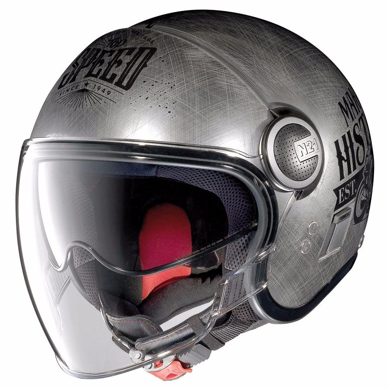 casque nolan n21 visor moto gp legends equipement du pilote access. Black Bedroom Furniture Sets. Home Design Ideas