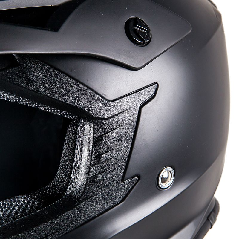 Casque cross Prov SKUD BASE BLACK MAT 2018